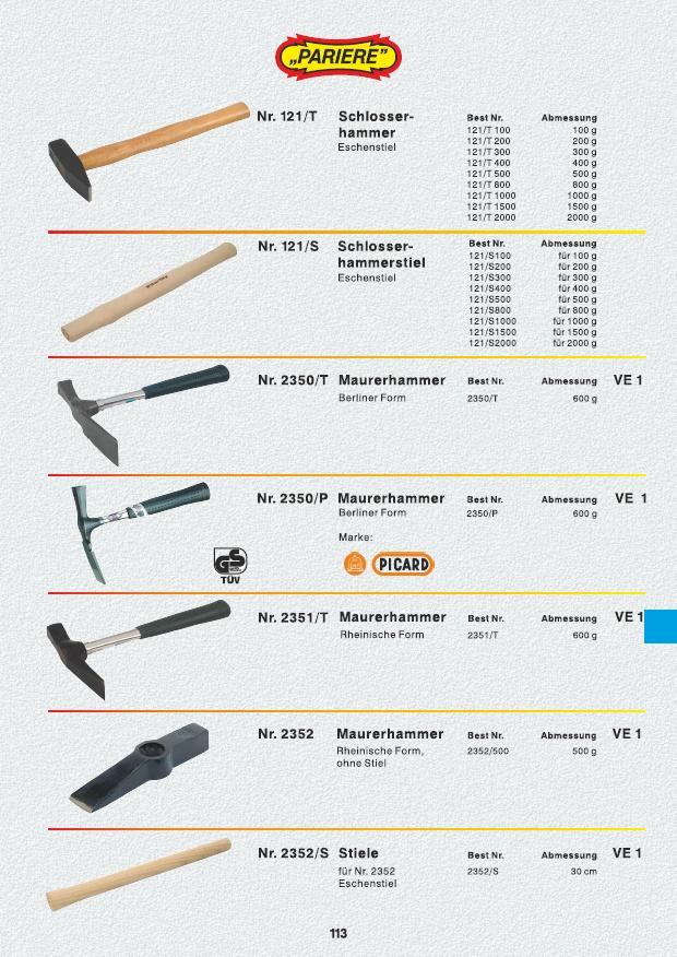 Pflasterhammer Plattenlegerhammer Gummihammer Hammer Fäustel Gummiaufsatz 1500